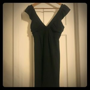 Guess Sleeveless Black Dress - Ruffled Straps -NWT